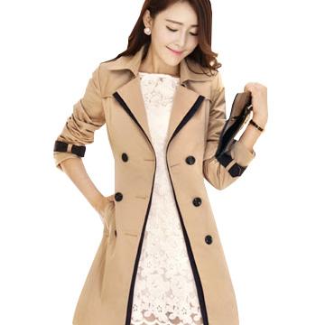 670 1 Tha hồ đổi khác style cùng với áo khoác nữ Hàn Quốc