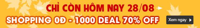 SHOPPING 0 ĐỒNG - TRÊN 1000 DEAL SỐC